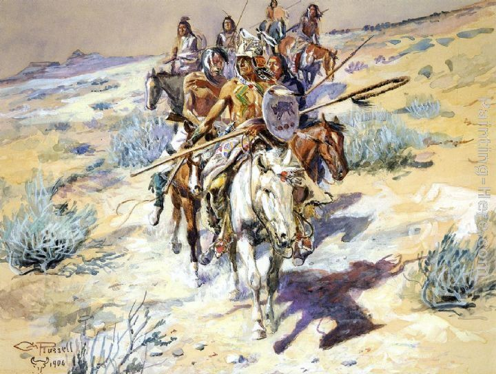 Charles Marion Russell Return of the Warriors