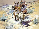 Charles Marion Russell Return of the Warriors painting