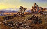 Charles Marion Russell The Stranglers painting