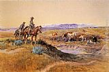 Charles Marion Russell Worked Over painting