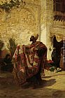 Charles Robertson The Carpet Seller painting