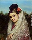 Charles Sillem Lidderdale The Young Bride painting