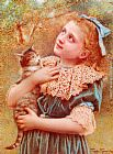 Charles Spencelayh Kitty Spencelayh painting