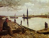 Charles Spencelayh Snodland Ferry Kent painting