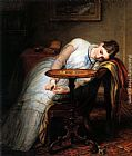 Charles West Cope Hope Deferred, And Hopes And Fears That Kindle Hope painting