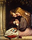 Charles West Cope The Thorn painting