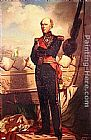 eze cote dazur france Paintings - Charles Baudin, Amiral de France