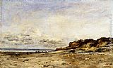 Charles-Francois Daubigny Low Tide At Villerville painting