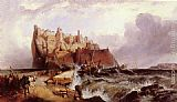 Clarkson Stanfield The Castle of Ischia painting