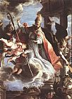 Claudio Coello The Triumph of St Augustine painting
