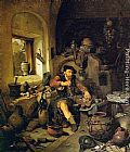 Cornelis Bega The Alchemist painting