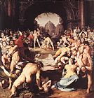 Cornelis Cornelisz Van Haarlem Massacre of the Innocents painting