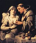 Cornelis Cornelisz Van Haarlem The Monk and the Nun painting