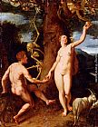 Cornelis Cornelisz The Fall Of Man painting