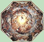 correggio Paintings - Assumption of the Virgin
