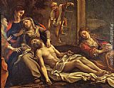 correggio Paintings - Deposition from the Cross