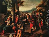correggio Paintings - The Adoration of the Magi