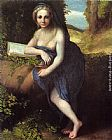 correggio Paintings - The Magdalene