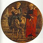 Cosme Tura Flight to Egypt (from the predella of the Roverella Polyptych) painting