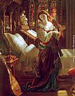 Daniel Maclise Madeline after prayer painting