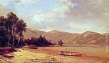 David Johnson View of Dresden, Lake George painting