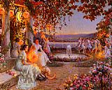 Delphin Enjolras Les Lampions painting