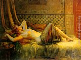 Delphin Enjolras Reclining Nude painting