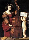 Domenichino St Cecilia painting