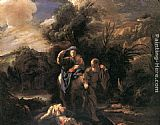 Domenico Feti Flight to Egypt painting