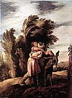 Domenico Feti Parable of the Good Samaritan painting