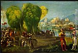 Dosso Dossi Aeneas and Achates on the Libyan Coast painting