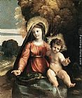 Dosso Dossi Madonna and Child painting