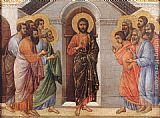 Duccio di Buoninsegna Appearence Behind Locked Doors painting