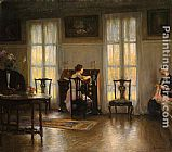 Edmund Charles Tarbell Mother and Mary painting