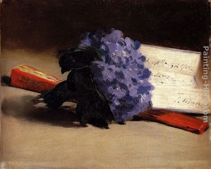 Eduard Manet Bouquet Of Violets