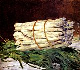 Eduard Manet A Bunch Of Asparagus painting