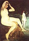 Eduard Manet Bathers on the Seine painting