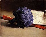 Eduard Manet Bouquet Of Violets painting