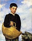 Eduard Manet Boy with Dog painting