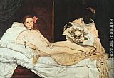 Eduard Manet Olympia painting