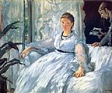 Eduard Manet Reading painting