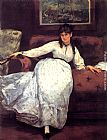 Eduard Manet Repose painting