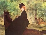 Eduard Manet The Horsewoman painting