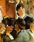 Eduard Manet The Waitress painting