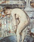 Eduard Manet Woman in a Tub painting