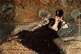 Eduard Manet Woman with Fans painting