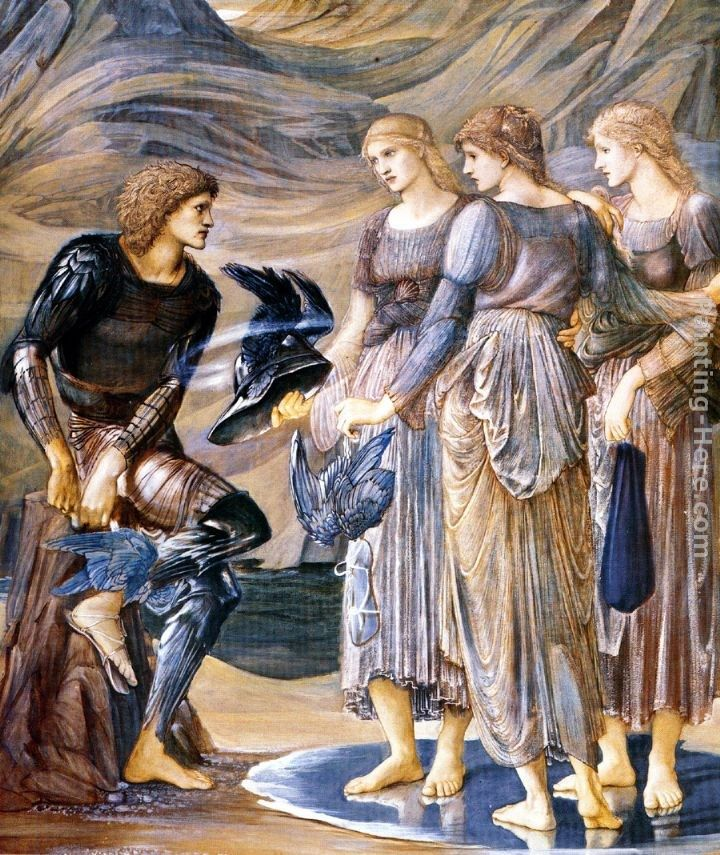 Edward Burne-Jones The Perseus Series Perseus and the Sea Nymphs