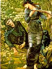 Edward Burne-Jones The Beguiling of Merlin painting