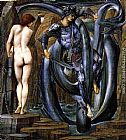 Edward Burne-Jones The Perseus Series The Doom Fulfilled painting