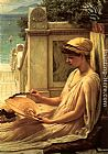 Edward John Poynter On the Terrace painting